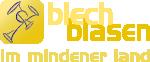 Logo Claim Blechblasen Bläserschule Kirchenkreis Minden